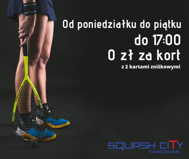Wygraj z Blue Monday w squasha!